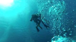 Scuba Diving Reef and Shipwreck St Thomas Virgin Islands Dec 2013